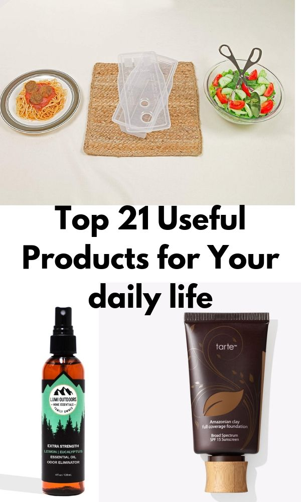 Top 21 Useful Products for Your daily life
