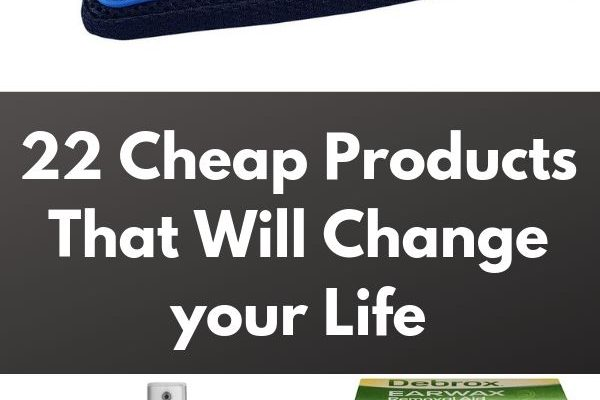 22 Cheap Products That Will Change your Life