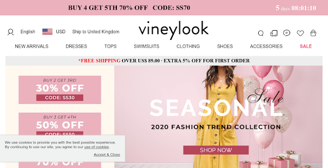 Vineylook Clothing Reviews