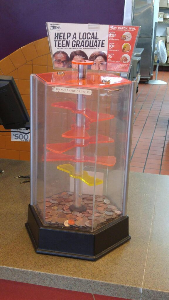Taco bell coin game for sale