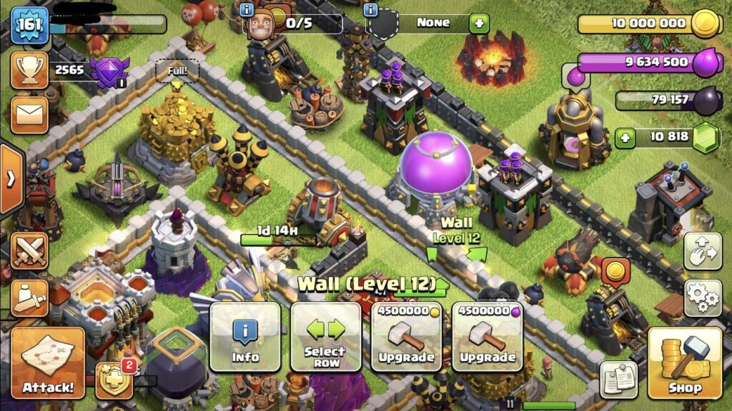 Clash of clans wall price reduction