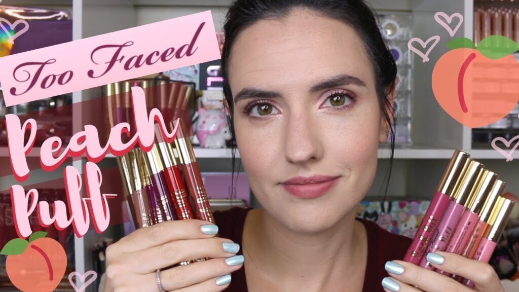 Peach puff too faced review