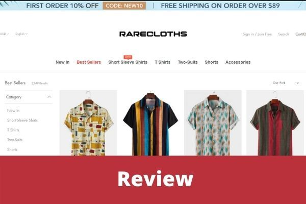 Rarecloths com reviews