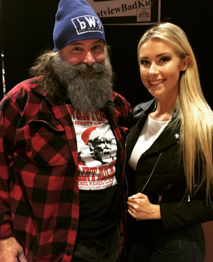 Mick foley daughter