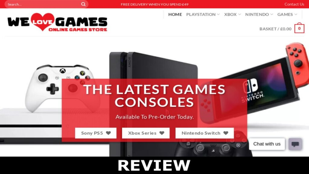 Welovegames.co.uk reviews